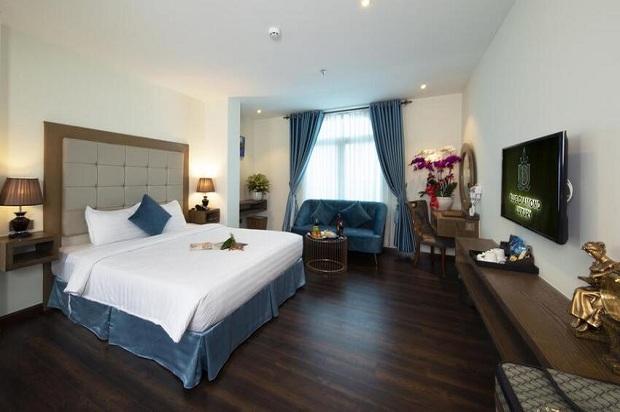 Khách sạn cách ly - Blue Diamond Luxury Sài Gòn