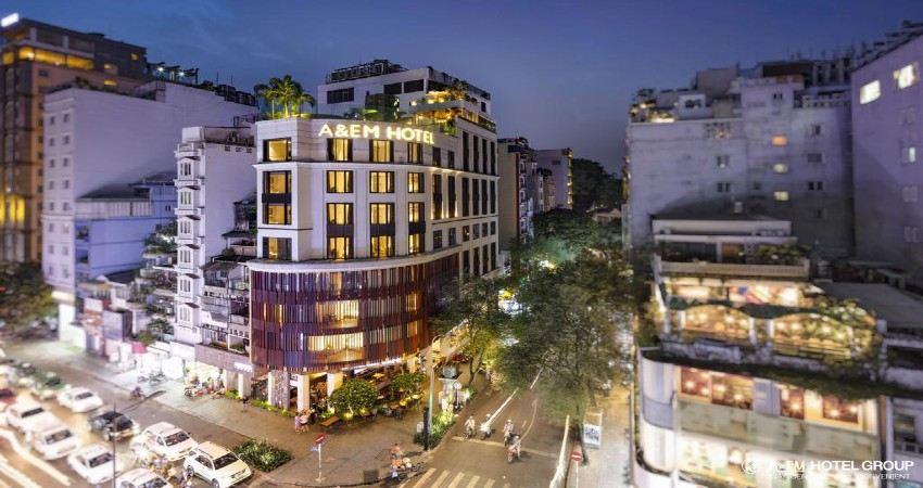 Khách sạn cách ly - A&EM Sài Gòn (A&EM Corner Hotel Cũ)