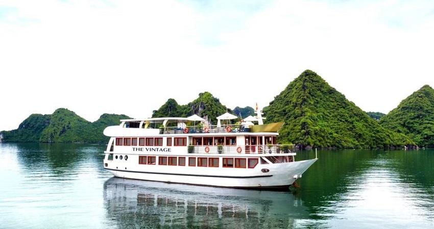 Du thuyền The Vintage Hạ Long