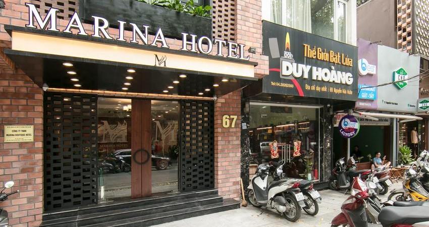 Khách sạn Marina Hà Nội