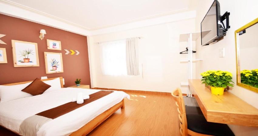 Phòng ngủ giường đôi lớn