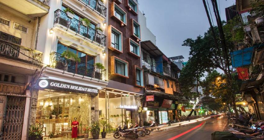 Khách sạn Hà Nội Golden Holiday