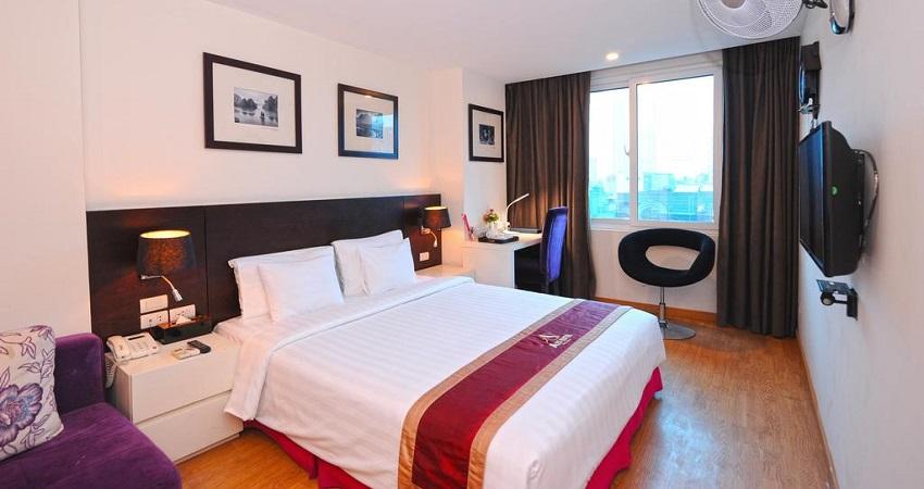 Khách sạn A25 Trần Thái Tông – Hà Nội