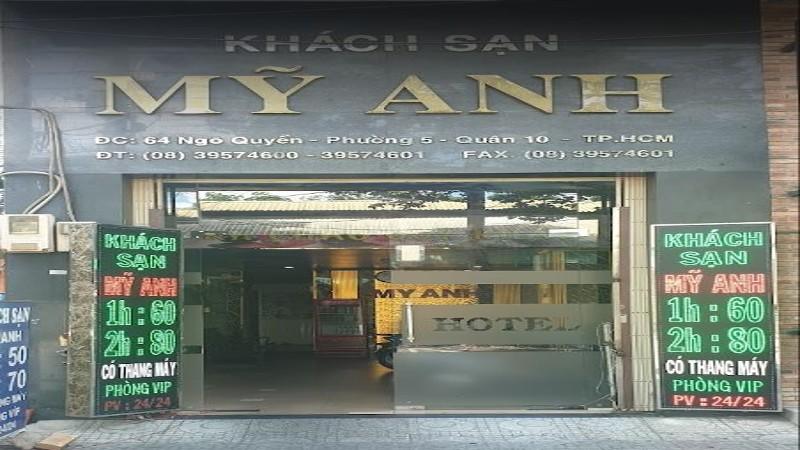 Khách sạn Mỹ Anh Sài Gòn